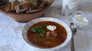 Щи мясные.  Какая же русская кухня без щей!  Shchi.