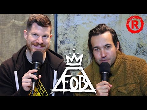 Fall Out Boy's Pete & Andy Talk Future Plans, Warped Tour & More