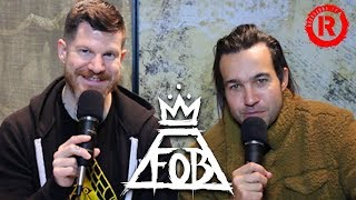Fall Out Boy's Pete Wentz & Andy Hurley Talk Future Plans, Warped Tour & More