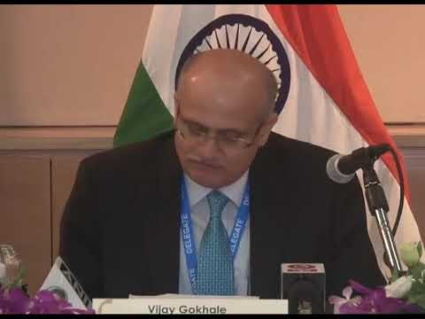 MEA's press briefing on PM's Singapore visit