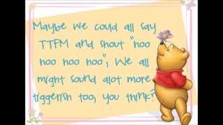 How to be a Tigger Lyrics (Winnie the Pooh HD)