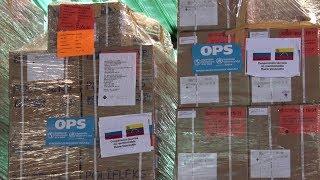 Россия доставила в Венесуэлу 7,5 тонн гуманитарной помощи