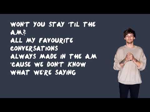 A.M. - One Direction (Lyrics)