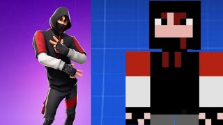 How To Make The Fortnite iconic Skin In Pixel Gun 3D