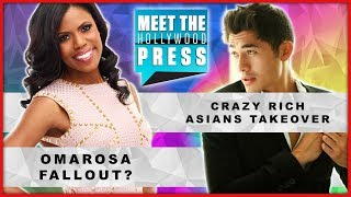 'Crazy, Rich Asians' Takeover! Omarosa Fallout; Fox News Fail: Aretha - Meet The Hollywood Press