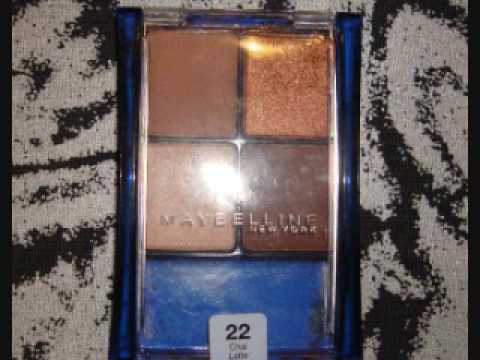 Review: Maybelline Chai Latte Quad - YouTube