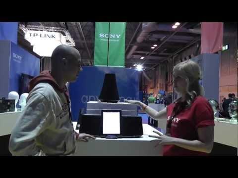 Sony iPod / iPad Audio Docking Systems Demo