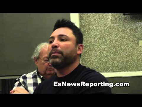 Oscar De La Hoya: Who Hits Harder Manny Pacquiao or Floyd Mayweather - EsNews