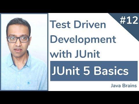 JUnit 5 Basics 12 - Test Driven Development With JUnit