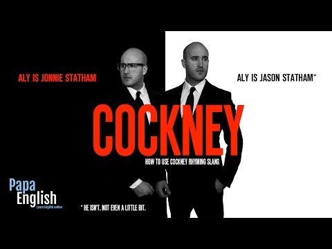 Cockney Rhyming Slang with Jason Statham* and Jonnie Statham