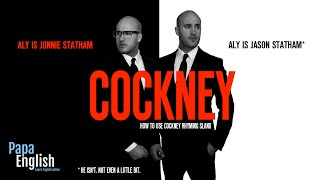 Cockney Rhyming Slang with Jason Statham* and Jonnie Statham