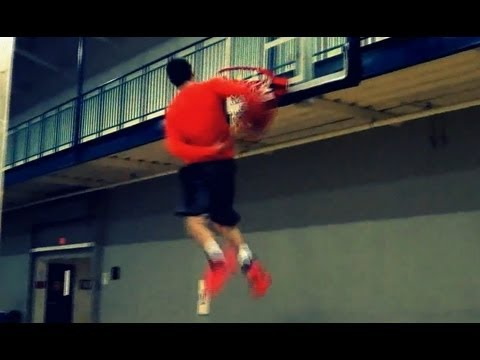 """TFB::Dunks:: 6'1"""" Andrew Pickwell Sick Behind the Back - Short Dunk Session"""