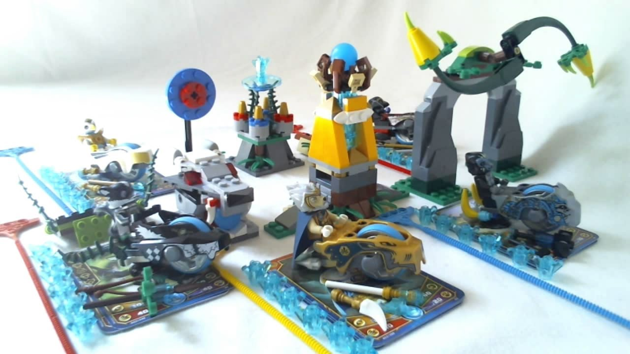 <b>Lego</b> <b>legends</b> <b>of</b> <b>chima</b> - <b>speedorz</b> - 70106 - jeu de ...