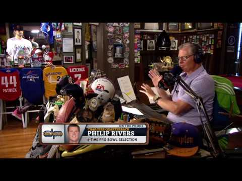 Chargers QB Philip Rivers on The Dan Patrick | Full Interview | 7/17/17
