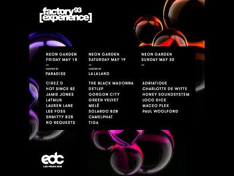Factory 93 presents Neon Garden at EDC Las Vegas 2018