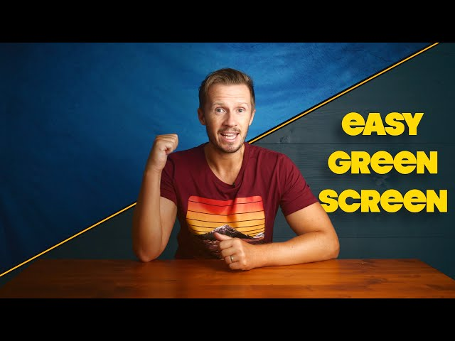 EASY GREEN SCREEN YOUTUBE STUDIO FOR ALL CREATORS!