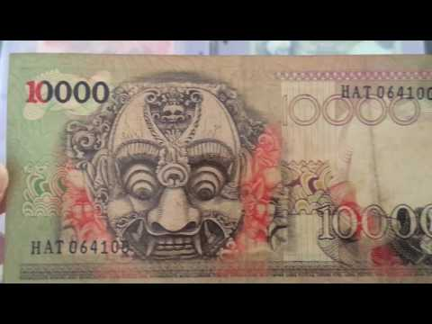 Milleno Indonesian Banknotes Collection Pt.4 end 1999