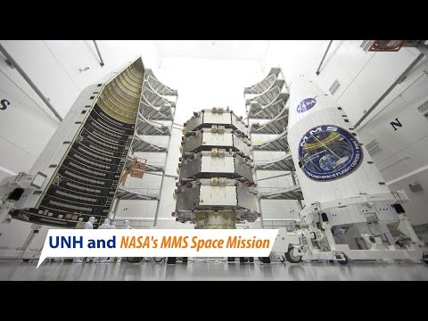 UNH and NASA's MMS Space Mission