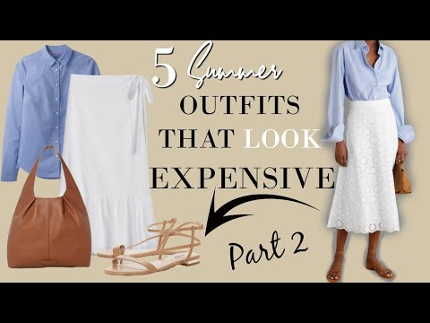 Summer outfits that look expensive on a budget ( Part 2 ) | Classy Outfits