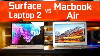 Surface Laptop 2 vs Macbook Air thumbnail
