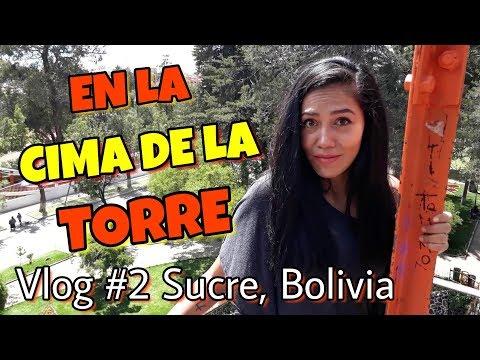 Otro dia en Sucre - Bolivia \\ Torre Eiffel + Catedral + Parque Simón Bolívar y más.. ❤