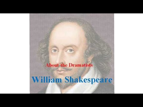 WILLIAM SHAKESPEARE -  ABOUT THE DRAMATISTS
