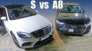 Mercedes-Benz S vs Audi A8: kto má lepšie sedadlá? - volant.tv
