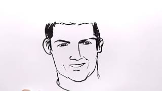 Cr7 Drawing For Kids