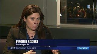 Virginie Rozière défend une proposition de législation plus protectrice des vigies citoyennes.