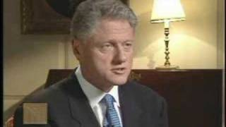President Bill Clinton - Statement on Testifying Before Jury