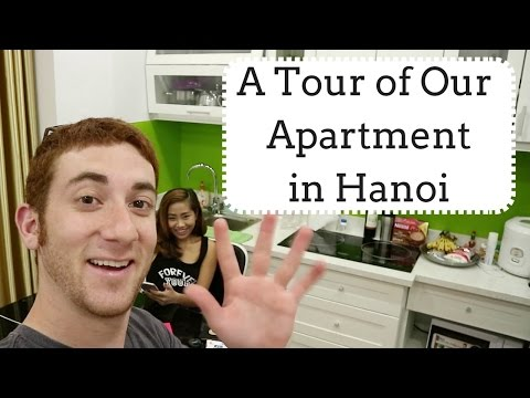 A Tour of Our Apartment in Hanoi