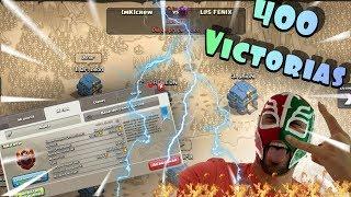 Vamos por la VICTORIA 400! Fuegooo! | Clash of Clans