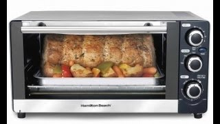 Hamilton Beach 6 Slice Toaster Oven Review (31409)