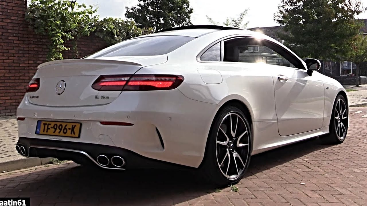2019 2020 Mercedes E53 Amg E Class Coupe 4 Matic Full Review Interior Exterior Infotainment Youtube