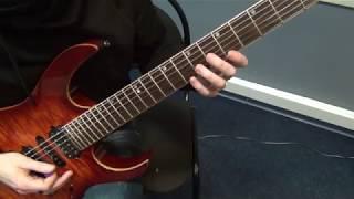 Играем Вместе Guitar Licks для аккордов Dm и F в тональности Am