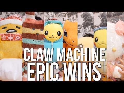 Claw Machine EPIC WINS - Arcade Ninja