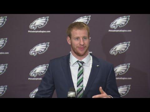 Carson Wentz Philadelphia Press Conference