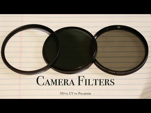 Polarizer vs ND Filter vs UV Filter explained | #DailyGuild 008