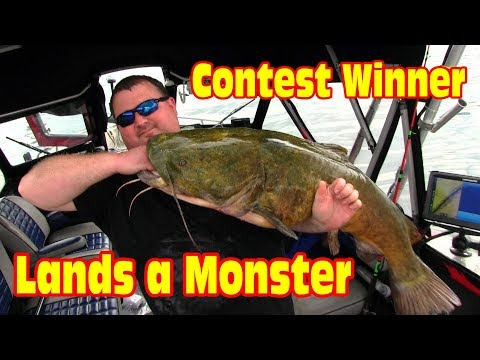 Angler wins a fishing trip with the Catfish Dude