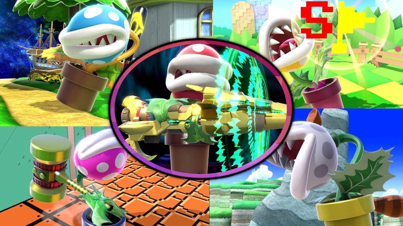 ALL ITEMS With Piranha Plant! [Super Smash Bros Ultimate ...