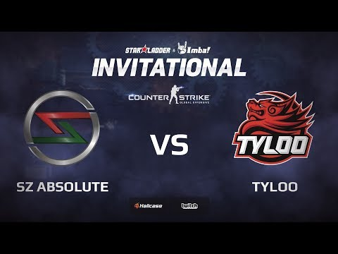 [EN] SZ Absolute vs TyLoo, map 2 cache, StarLadder ImbaTV Invitational Chongqing