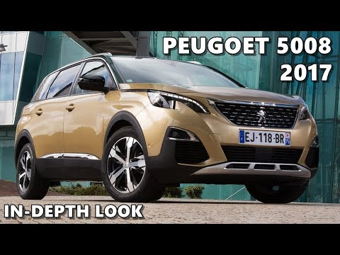 Peugeot 5008 2017 Interior Exterior Driving Youtube