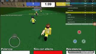 First video I play/football in roblox