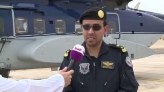 كاميرا العربية ترافق طيران الأمن بالمدينة المنورة في جولته ا
