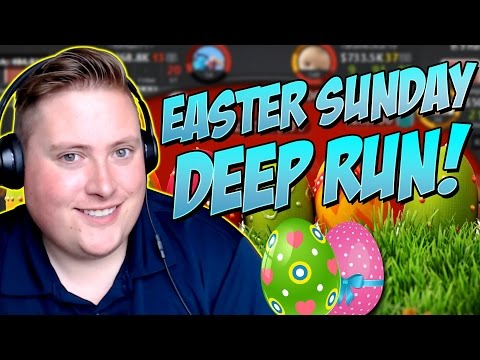 EASTER SUNDAY DEEP RUN!!! PokerStaples Stream Highlights April 16th 2017
