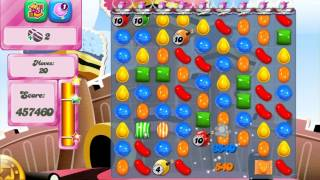 Candy Crush Saga Level 384 No Boosters