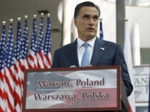 Oops: Romney Praises Poland's Economy But...