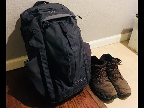 What I carry in my Vertx Gamut EDC Backpack .