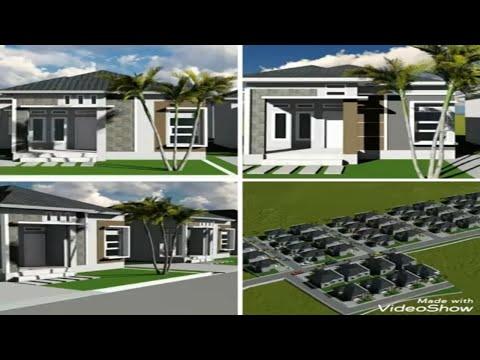 desain rumah & perumahan minimalis - youtube
