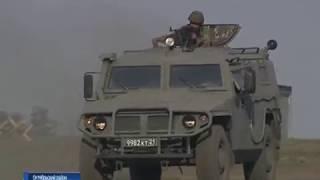 На полигоне Кадамовский военные проводят масштабную тренировку